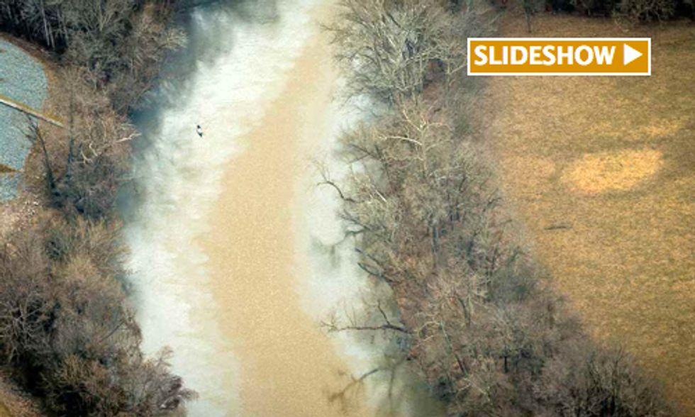Exclusive: Duke Energy Ongoing Coal Ash Spill Into Dan River