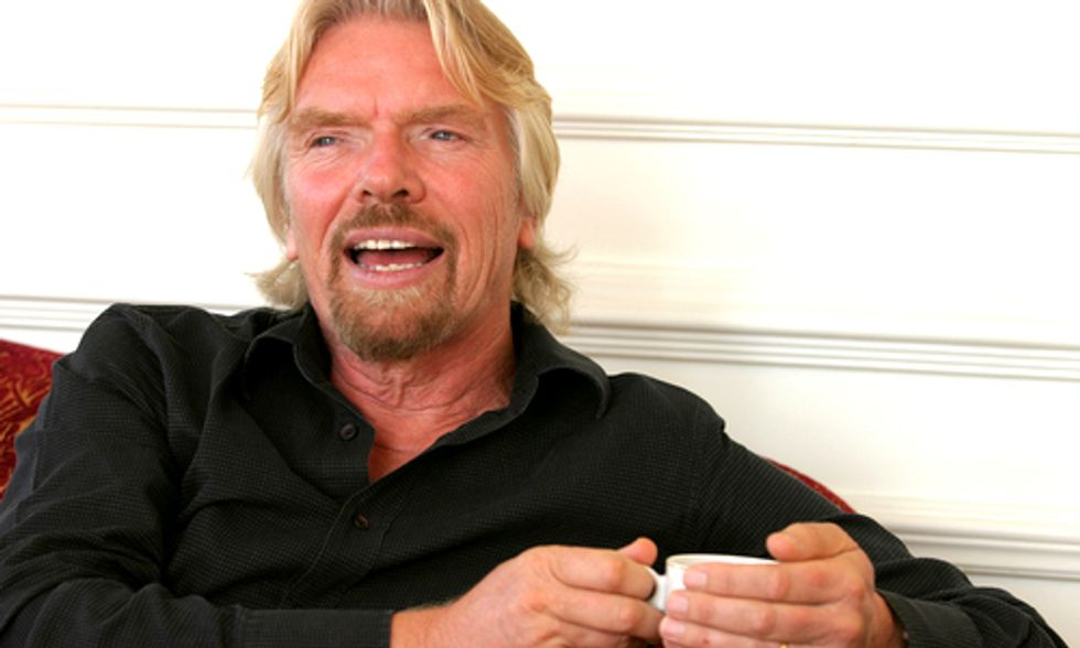 Virgin CEO Richard Branson Vows to Turn Caribbean Islands Green