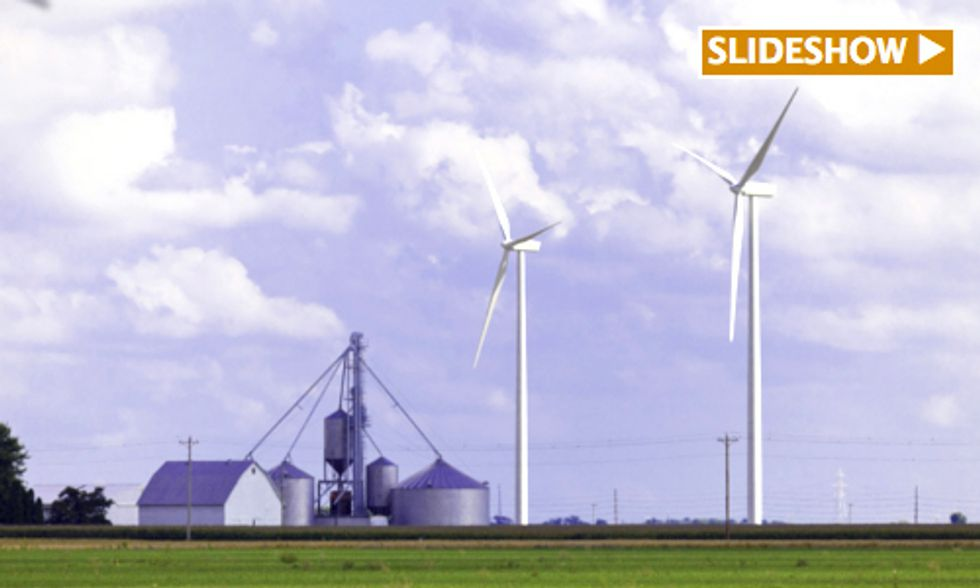 Wind Energy Provides $2.7 Million Tax Windfall for Two Communities