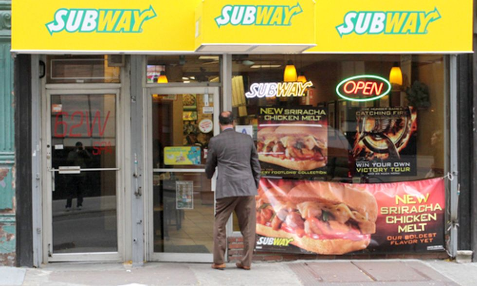 Subway to Remove Chemical Found in Shoe Soles and Yoga Mats From Its Bread