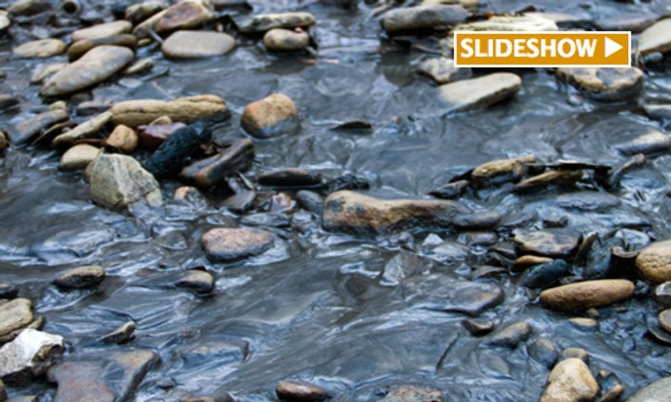 Breaking: Third Coal-Related Spill in the Last Month Contaminates West Virginia Waterway