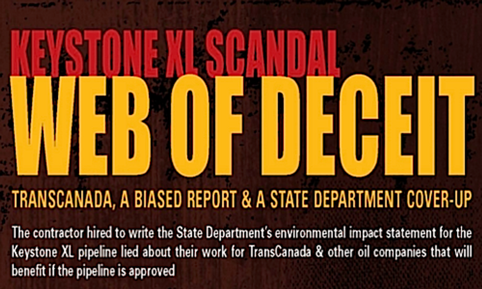 New Evidence Submitted in State Department Hiring of Oil Industry Consultant to Write Keystone XL Environmental Review
