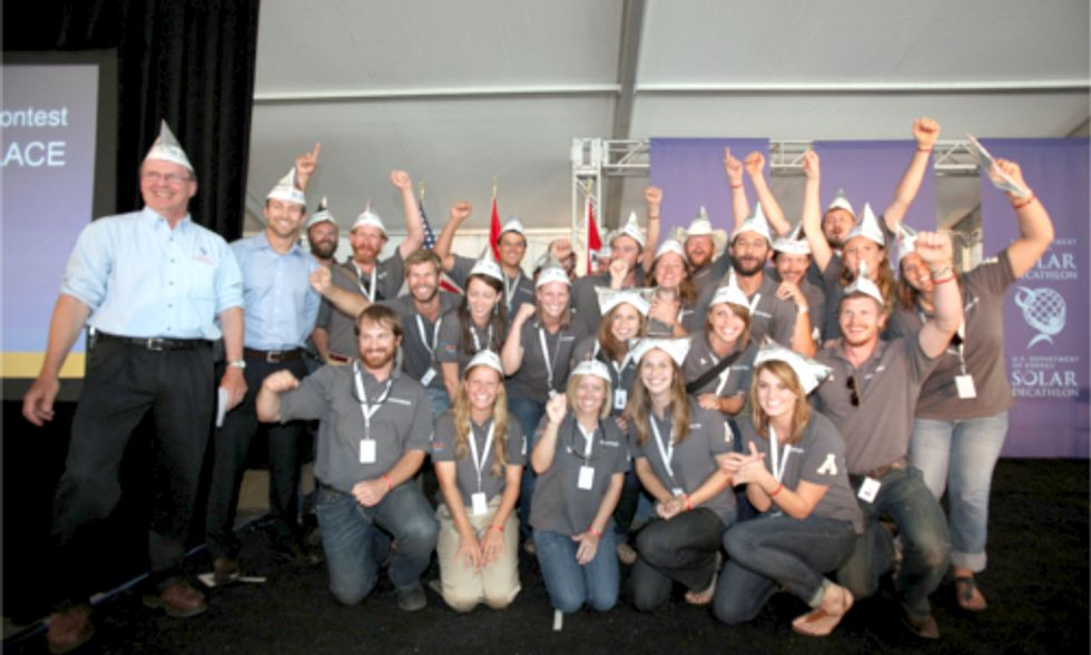 College Students From Around The World Embark on 2015 Solar Decathlon