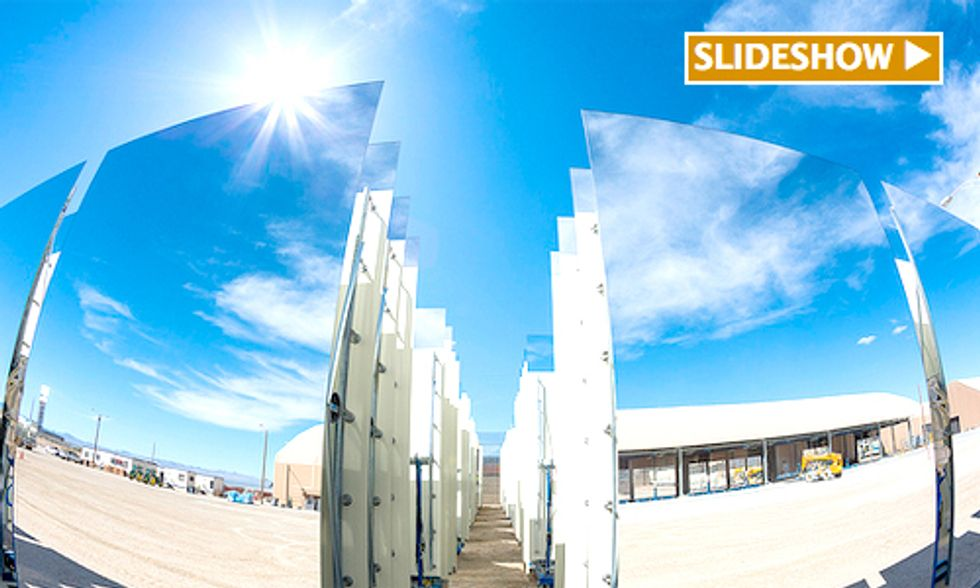 World's Largest Solar Thermal Plant Opens For Business