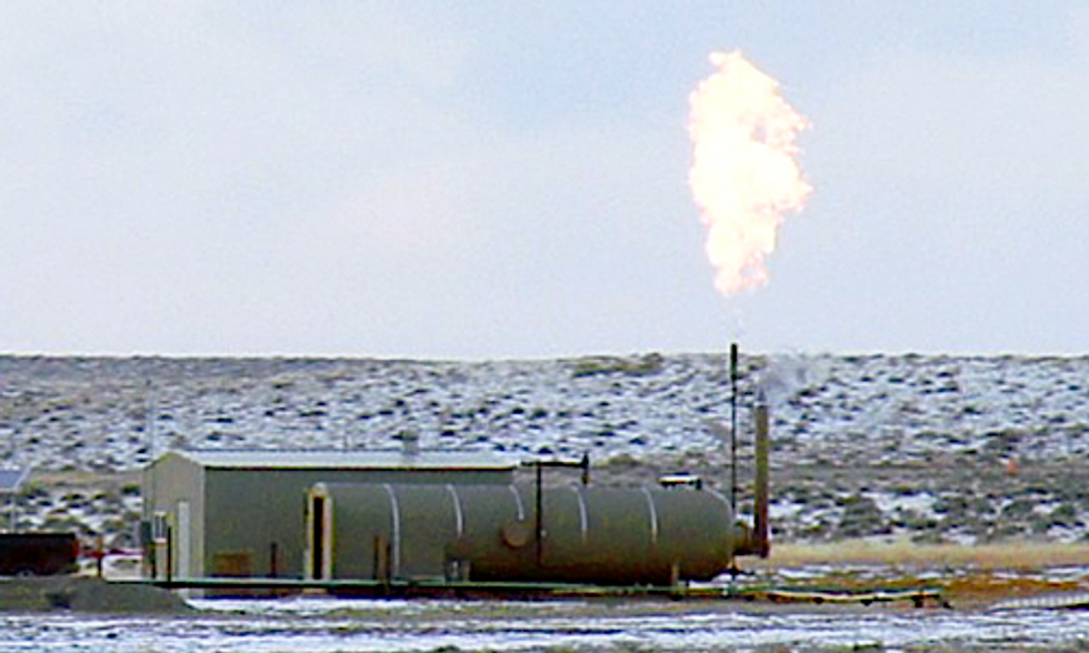 Study Finds Underestimated Methane Emissions Negate Industry Claims of Fracked Gas' Benefits