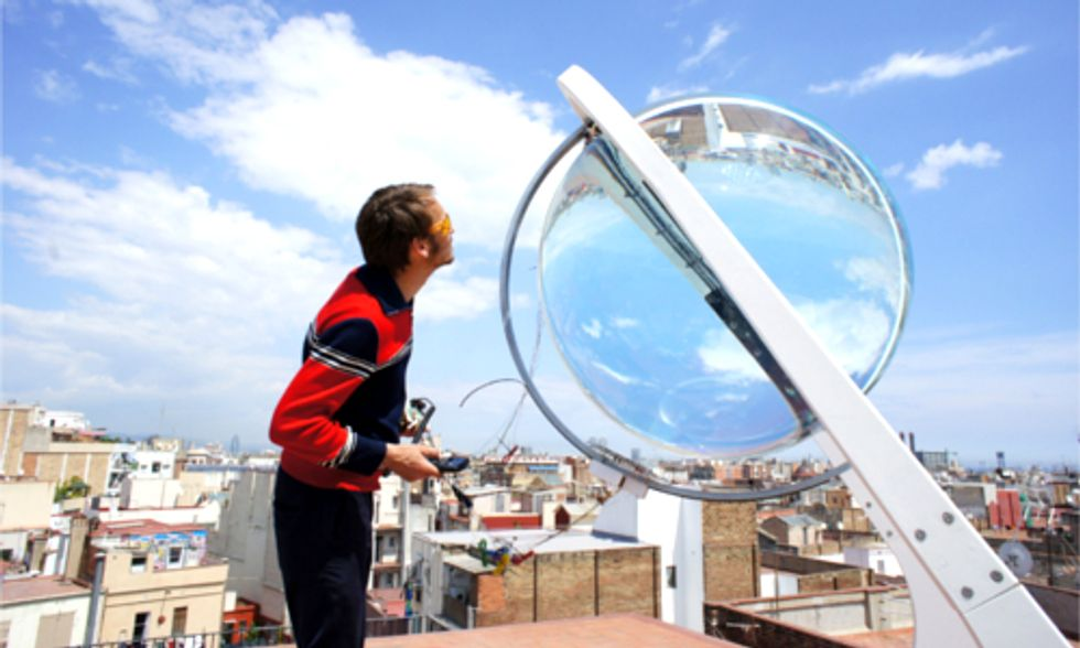 How a Glass Orb Could Change Solar Energy