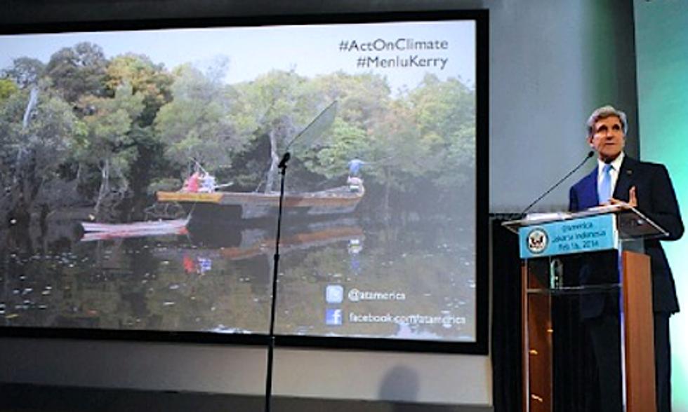 Secretary of State John Kerry Calls Climate Change 'Weapon of Mass Destruction'
