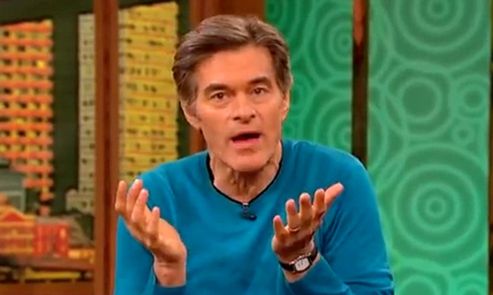 Dr. Oz Advocates GMO-Labeling, Discusses Dangers of Genetically-Engineered Food