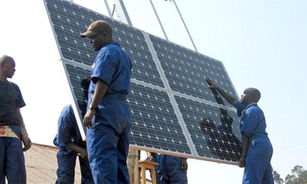 Rwanda's First Utility-Scale Solar Plant to Provide Electricity to Powerless Communities