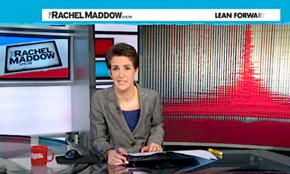 Rachel Maddow Devotes Large Portion of Show to Hazards of Fracking