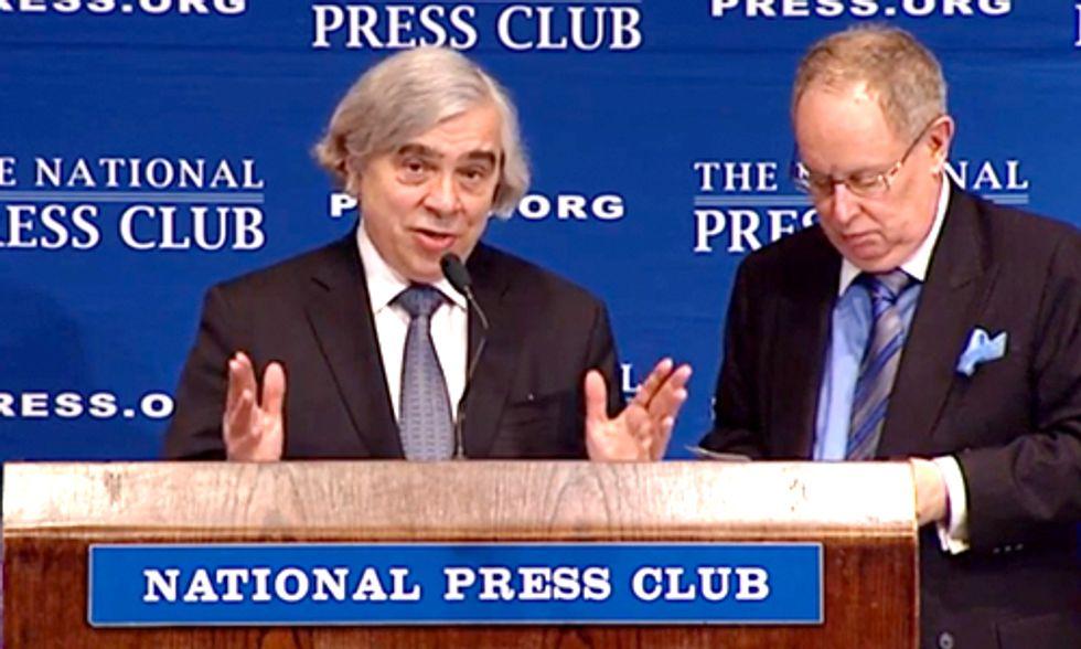 Energy Secretary Moniz Announces $6.5 Billion Loan For First Nuclear Plants in Nearly 30 Years