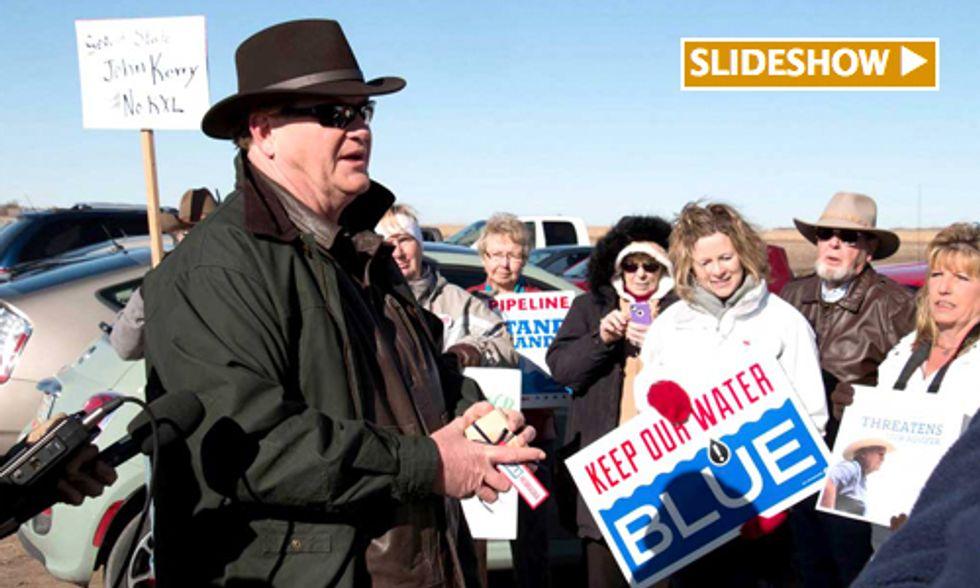 MSNBC's The Ed Show Visits Nebraska to Hear From Those in the Path of Keystone XL Pipeline