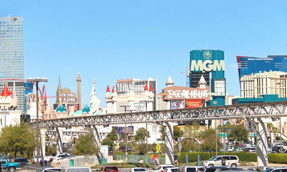 Dozens of EV Charging Stations Hit Las Vegas Strip