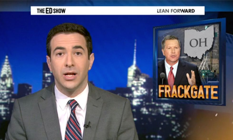 Kasich Joins Troubled GOP Governor Group for Involvement in 'FrackGate'