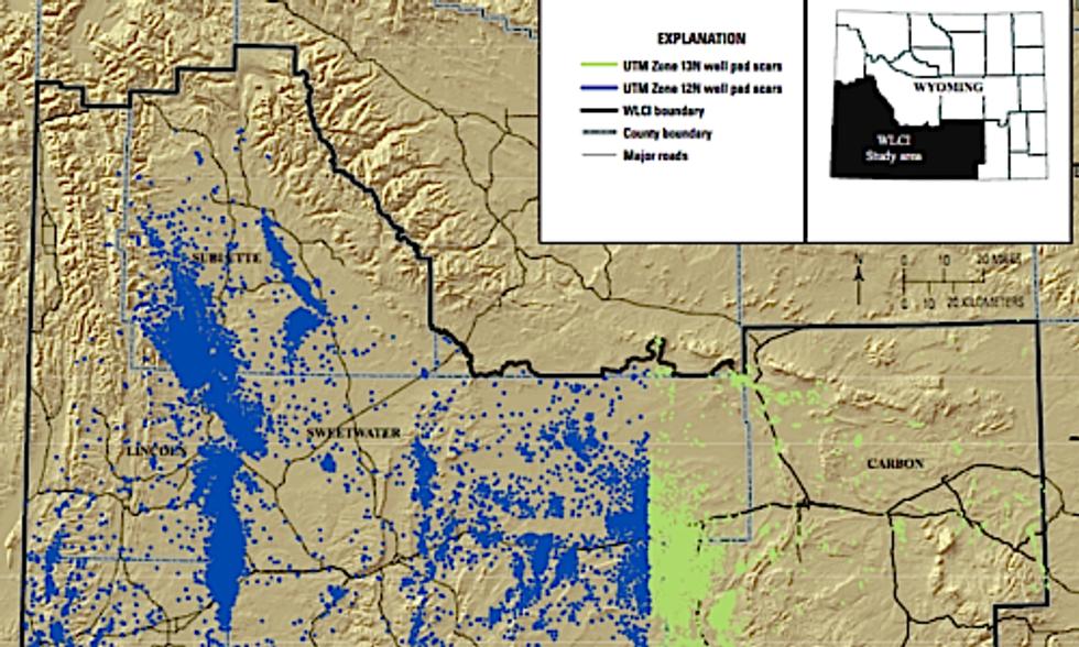 USGS Maps Fracking in Fragile Region of Wyoming