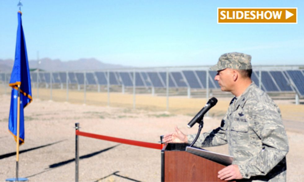 Arizona Air Force Base Celebrates Largest Solar Array of Any on U.S. Department of Defense Grounds