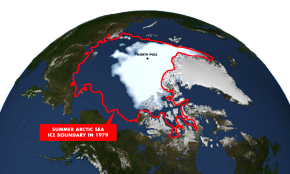 U.S. Calls for Commercial Fishing Ban In Arctic As Sea Ice Melt Opens International Waters