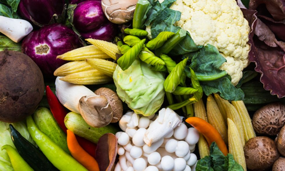 New, Improved Vegetarian and Vegan Food Pyramid
