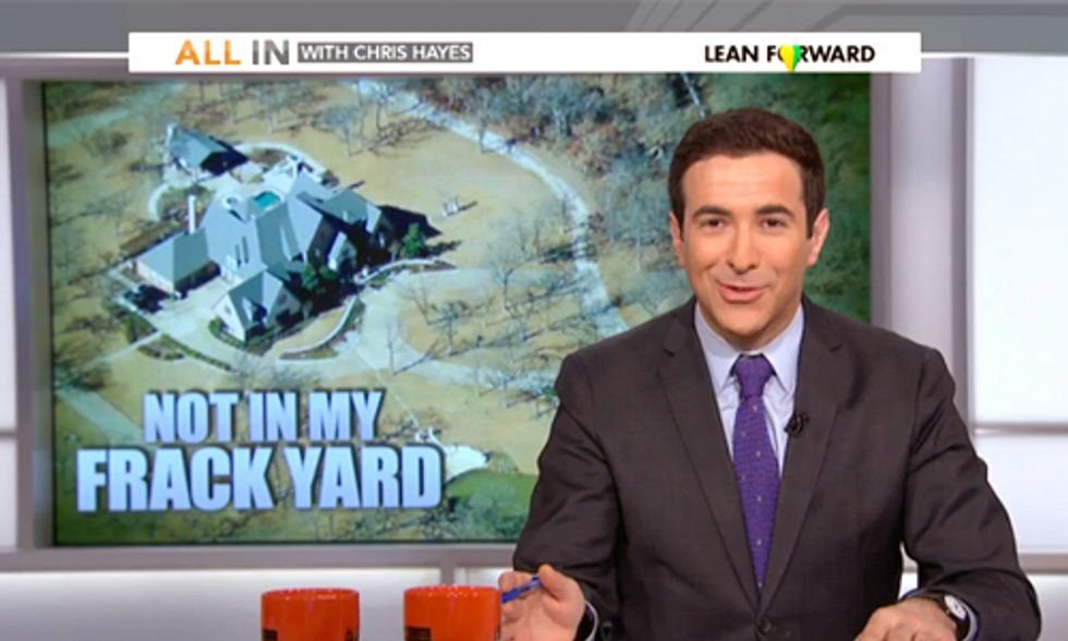 MSNBC Weighs in on Controversy Surrounding Exxon CEO's Fracking Lawsuit