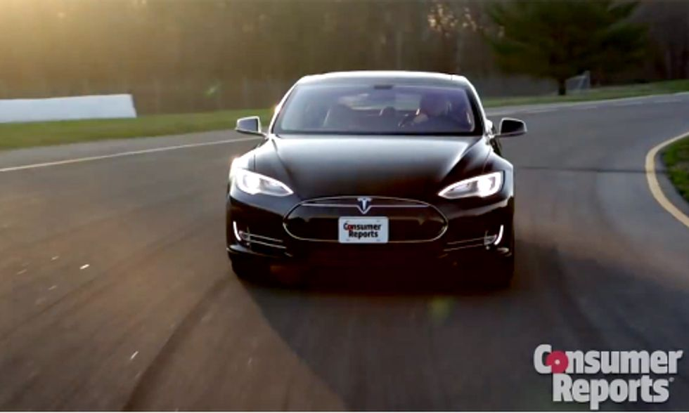 Big Win for EVs: Consumer Reports Names Tesla Model S Best Overall Car For 2014