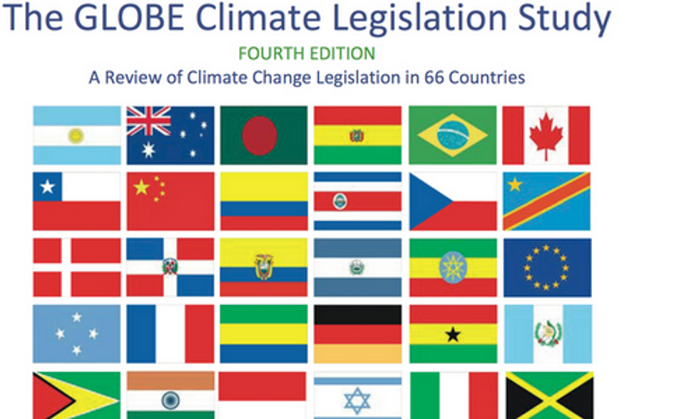 Global Study Shows U.S. Is 1 of 5 Nations Without Climate Legislation