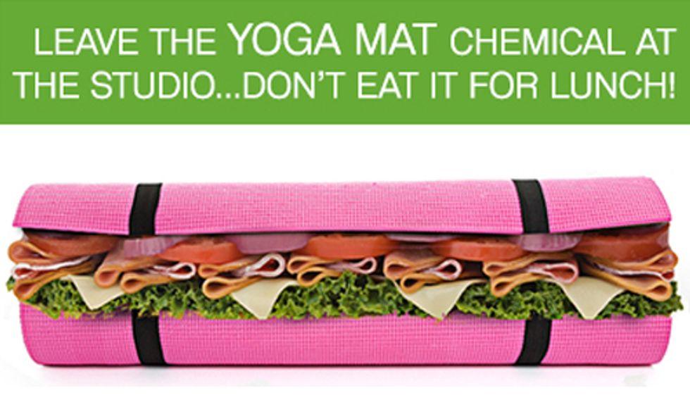 500 Ways to Make a Yoga Mat Sandwich