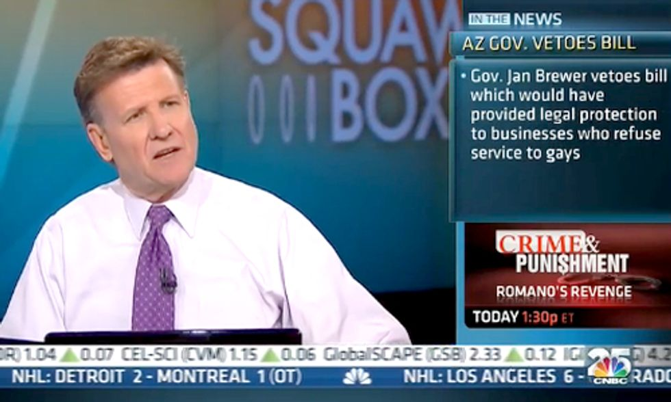 CNBC's Joe Kernen Compares Climate Change to 'Witchcraft'