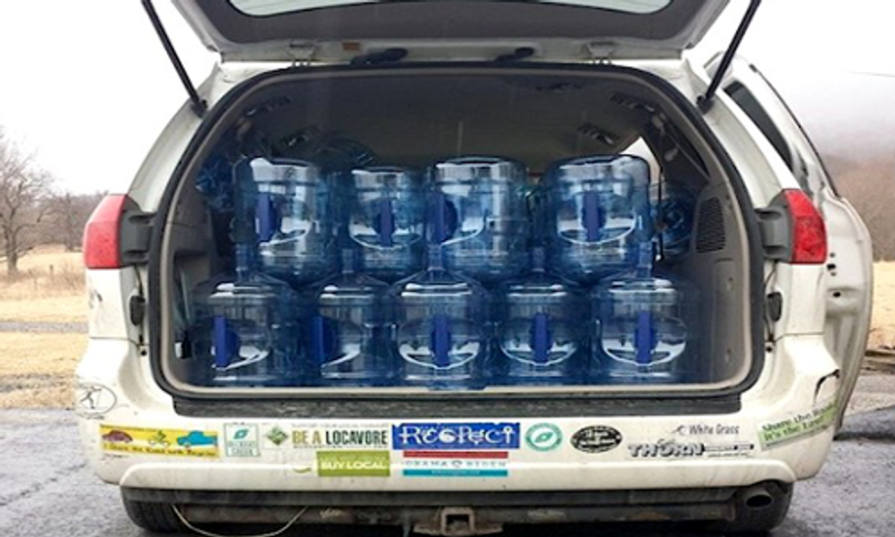 Grassroots Organizations Mobilize to Meet Community Water Needs Following WV Chemical Spill