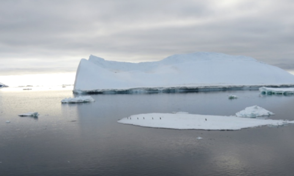 Climate Change Affects Antarctica's Ocean Salinity, Trapping Heat in Deep Water