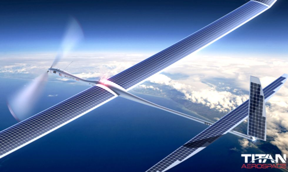 Facebook Could Buy Solar Drone Maker to Help 5 Billion People Connect to the Web