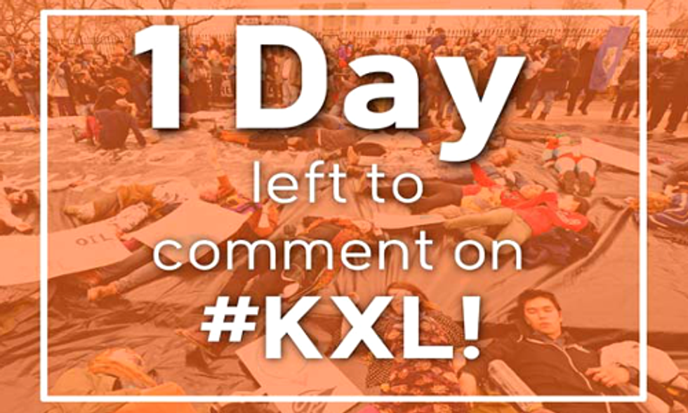 Last Day to Comment on Keystone XL Final Environmental Impact Statement