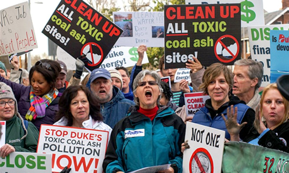 No More Excuses: Duke Energy, Clean Up Your Toxic Ash Holes