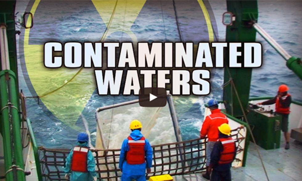 Miles O'Brien Takes PBS Fishing for Radiation at Fukushima