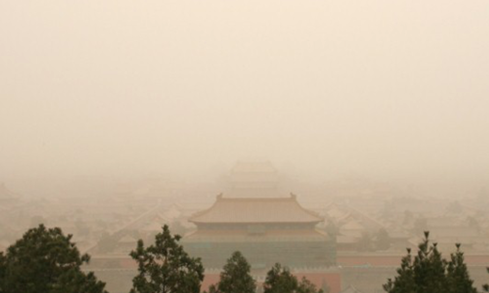 9 Chinese Cities Exceeded Beijing's Abysmal 2013 Air Pollution Levels