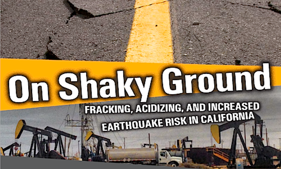 Fracking Waste Injection Wells Put Millions of Californians at Risk of Increased Earthquakes