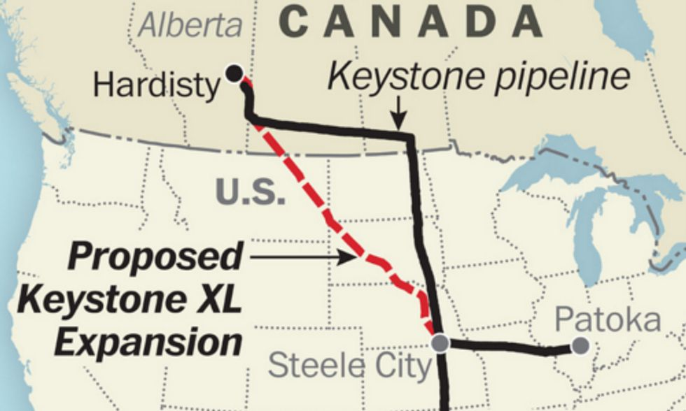 Carbon Tracker Reports Keystone XL Will 'Significantly Exacerbate' Climate