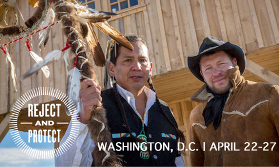 Cowboy Indian Alliance Announces Week Long Keystone XL Protest in DC