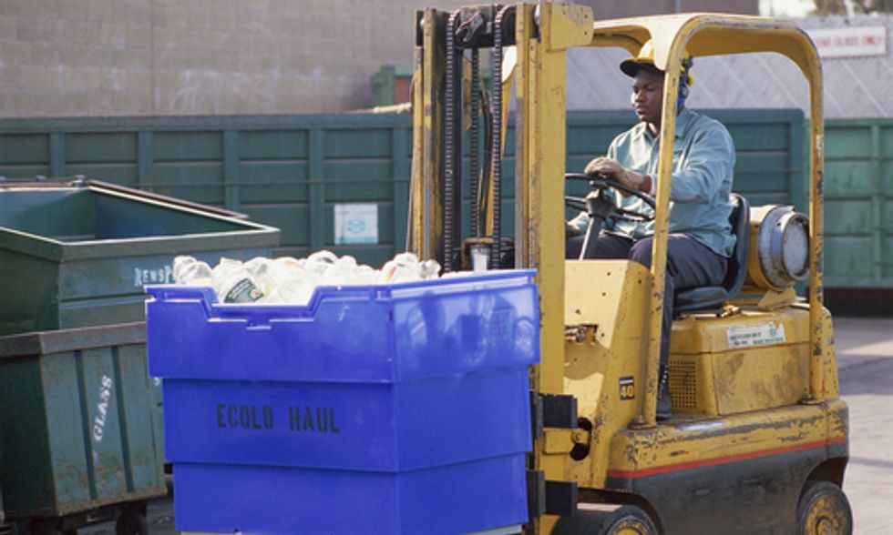 How California's 75 Percent Recycling Goal Will Create Thousands of Green Jobs