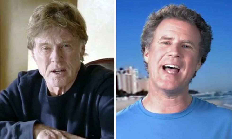 Robert Redford and Will Ferrell Team Up to Save the Colorado River Delta