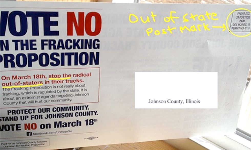 Fracking Industry Tries to Buy Democracy in Rural Illinois
