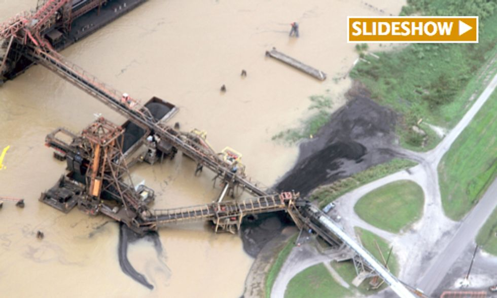 Advocates for the Gulf Sue Coal Export Terminal for Polluting Mississippi River