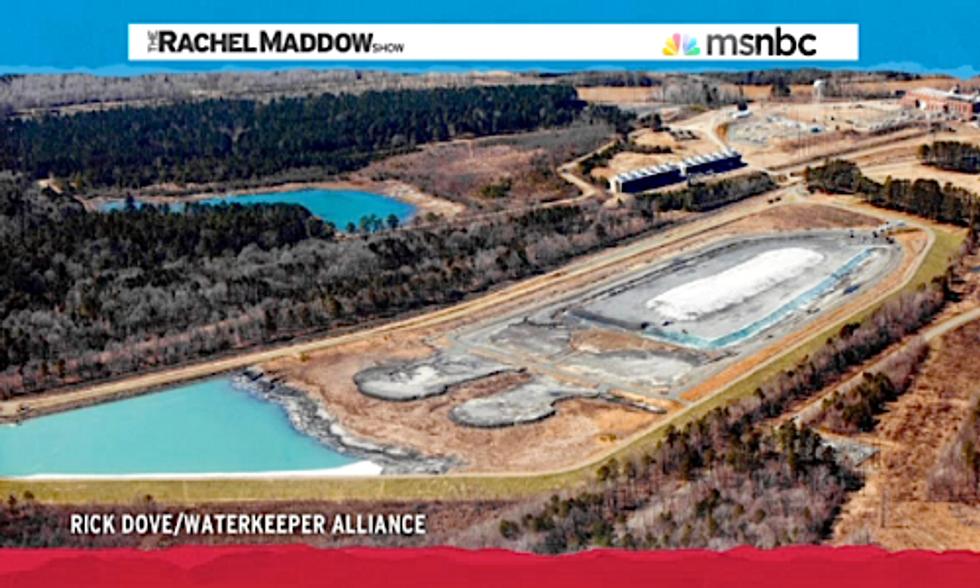 Rachel Maddow Features Waterkeeper Alliance Photos Showing Duke Energy Dumping Coal Ash Into Local Waterways