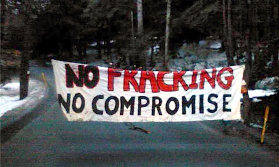 Protestors Arrested Halting Fracking Operations in Pennsylvania State Forest