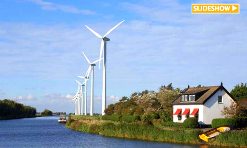 How Wind Energy Can Conserve Europe's Water and Save Billions