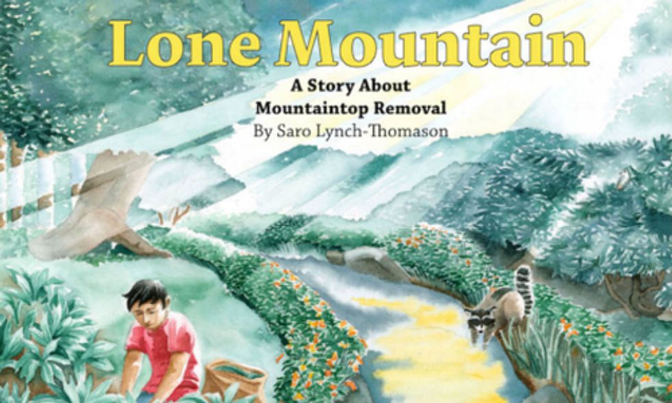 First-Ever Book Educating Children About Dangers of Mountaintop Removal Coal Mining