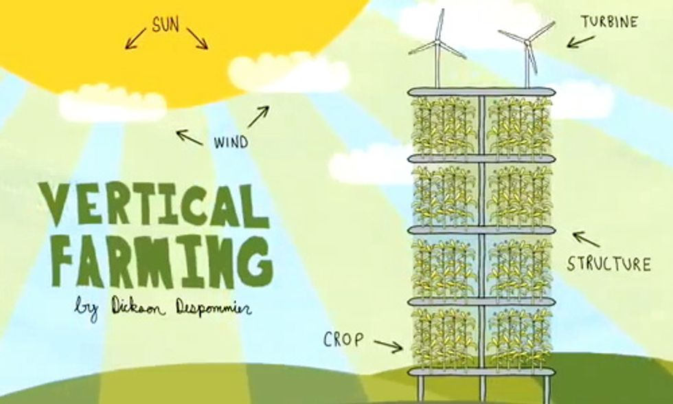 Vertical Farming: Feeding Tomorrow's World With Today's Emerging Technologies