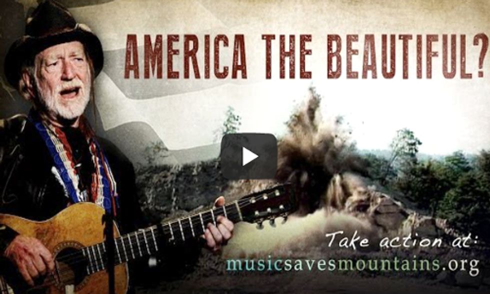 Willie Nelson Joins Fight to Stop Mountaintop Removal Coal Mining