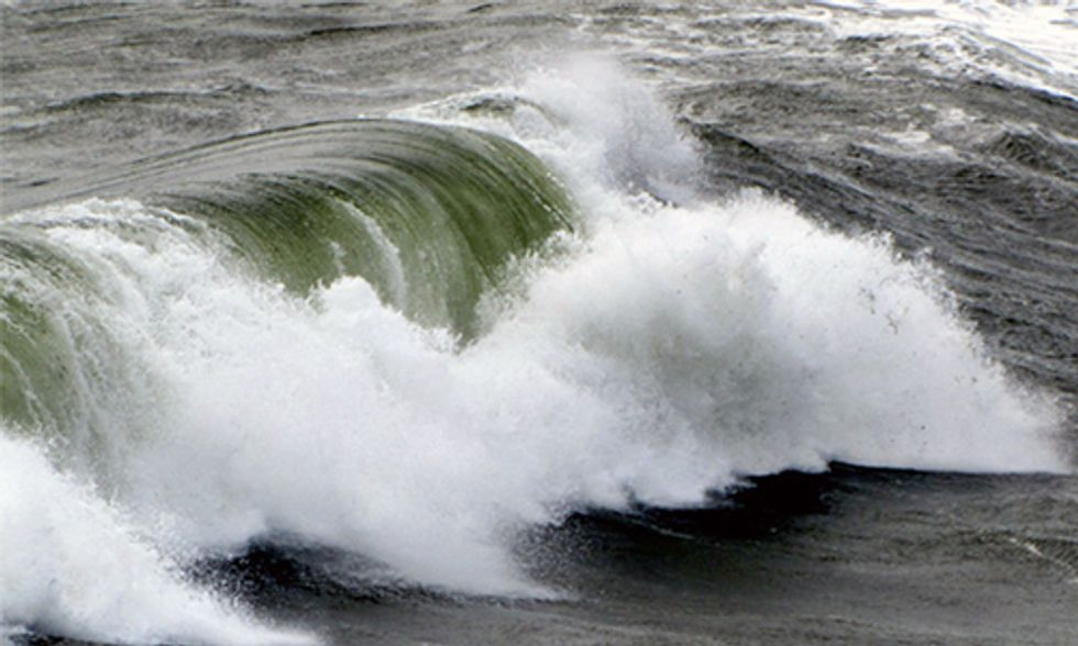 World's First Wave Energy Array Goes Online