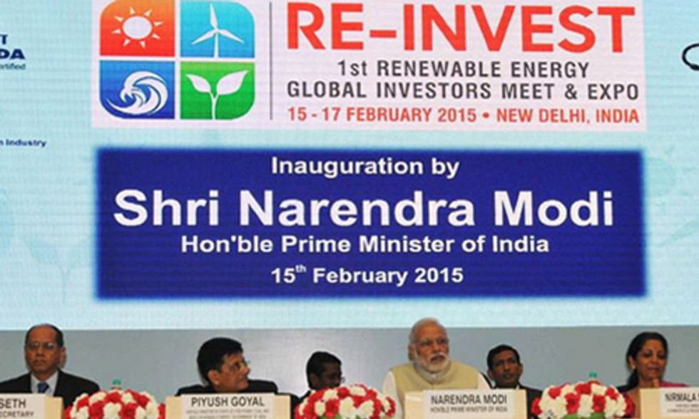 India's Huge Commitment to Renewable Energy Provides 'Gift to the World'