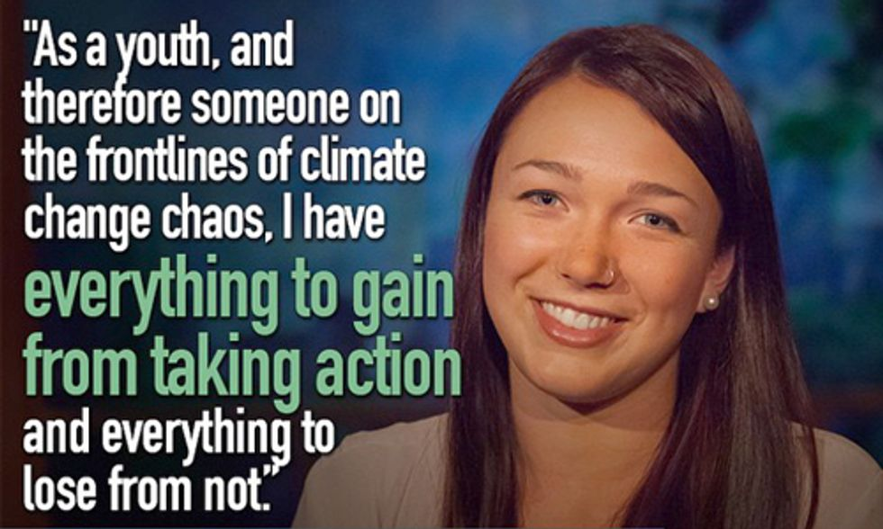 Teens Sue Government for Failing to Address Climate Change for Future Generations